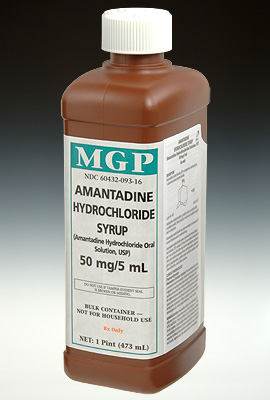 AMANTADINE Hydro 50mg 5ml